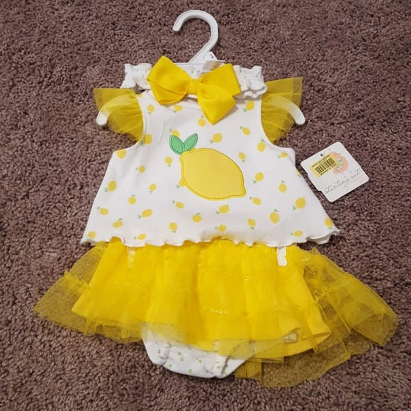 905aba213d Starting Out Matching Sets | Lemon Baby Outfit | Poshmark